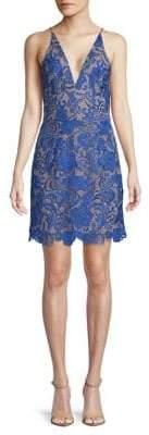 Dress the Population Allie Lace Mini Dress