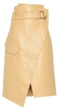 Petar Petrov Rita leather skirt