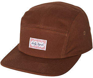 rhythm New Men's Messenger Strapback Cap Cotton Brown