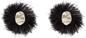 Proenza Schouler Women's Feather Earrings