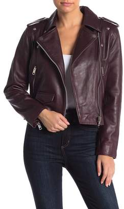 Walter W118 by Baker Liz Lamb Leather Jacket
