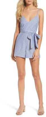 Women's Bardot Frankie Stripe Romper $99 thestylecure.com