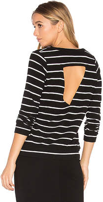 Chaser Triangle Open Back Pullover