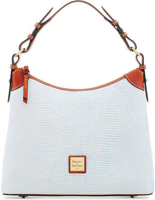Dooney & Bourke Lizard-Embossed Leather Hobo