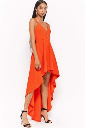 Forever 21 Plunging High-Low Dress