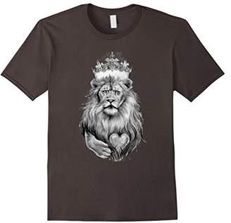 Lion Heart KING T Shirt | Tattoo Ink King T-Shirt