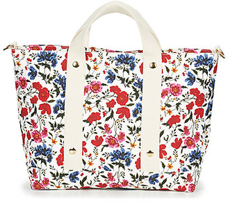 Petite Mendigote ROMANE women's Shopper bag in White