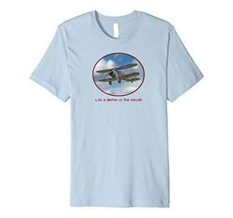 Beautiful Vintage Retro Biplane t-shirt