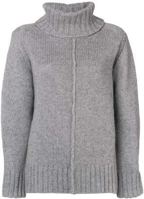 Hemisphere oversized roll-neck sweater