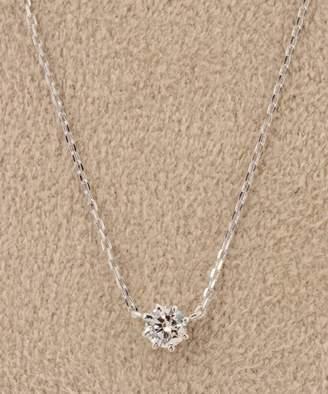 DECOUVERTE (デクーヴェルト) - DECOUVERTE 18KWG 0.1ct ダイヤモンド ネックレス H&C