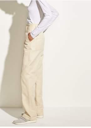 Vince Seam Front Wide-Leg Pant