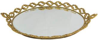 One Kings Lane Vintage Baroque-Style Vanity Tray