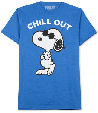 JEM Men's Peanuts Please Don't Kill My Chill T-Shirt