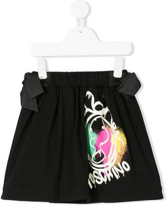 Moschino Kids logo skirt