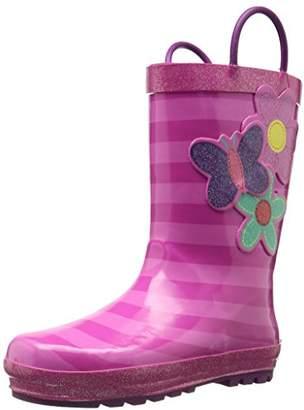 Western Chief Girls Printed Rain Boot, Blossom Cutie