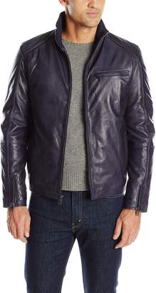 Ungaro Emanuel by Men's Washed Effect Bomber