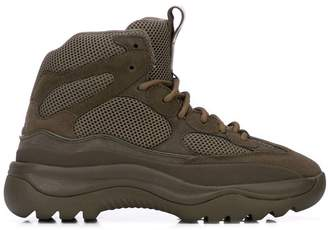 Yeezy chunky sole boots