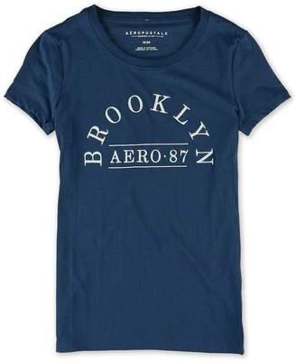 Aeropostale Womens Brooklyn Embellished T-Shirt M