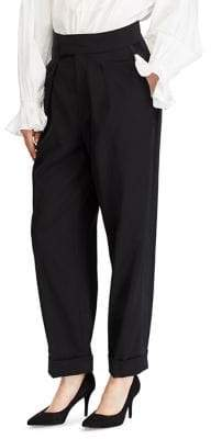 Polo Ralph Lauren Classic Wool And Silk Pants