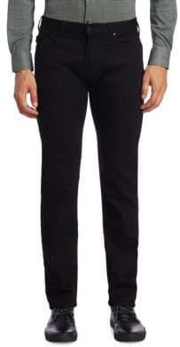 Giorgio Armani AJ Slim-Fit Twill Denim Pants