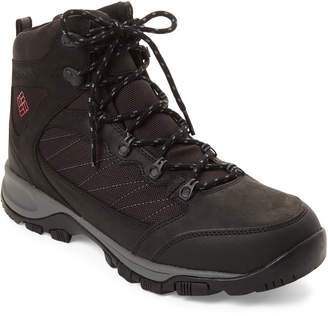 Columbia Black & Mountain Red Cascade Pass Waterproof Boots