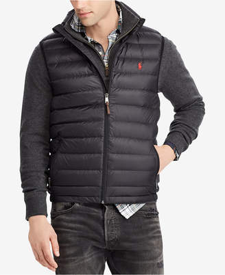Polo Ralph Lauren Men Big & Tall Packable Down Vest