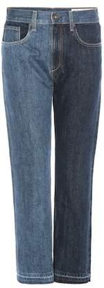 Rag & Bone 2 Tone Crop jeans