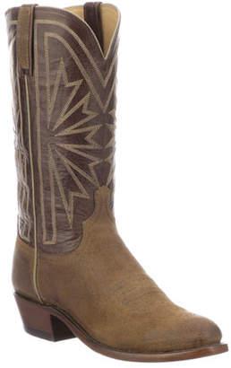 Lucchese Men's Hobbs Sunburst Western Cowboy Boots