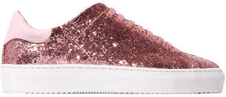 Axel Arigato - Clean 90 Glittered Leather Sneakers - Antique rose