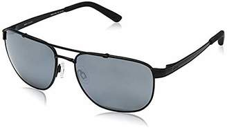 e73f58be59 Revo Unisex RE 1046 Archer Rectangular Crystal Lenses Polarized Sunglasses