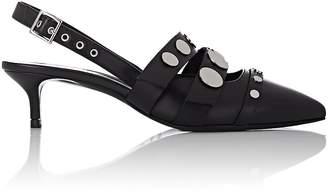 Pierre Hardy Women's Dani Embellished Leather Slingback Pumps