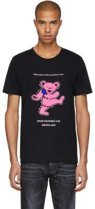 Stolen Girlfriends Club Black Grateful Dead Aint No Time To Wait T-Shirt