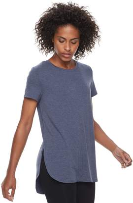 Tek Gear Women's High Slit Tunic Tee