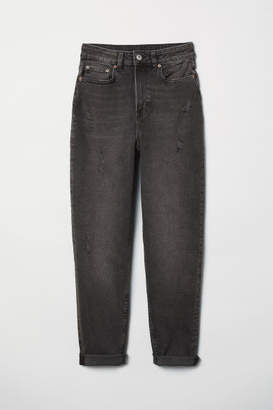 H&M Mom Jeans - Gray