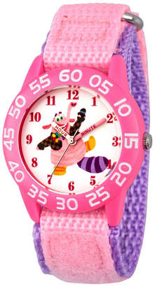 Disney Inside Out Girls Pink Strap Watch-Wds000602