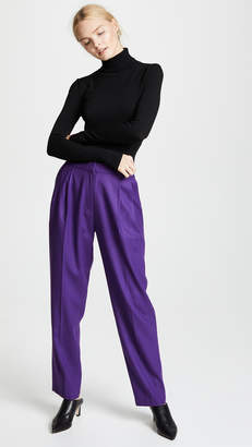 pushBUTTON High Waisted Trousers
