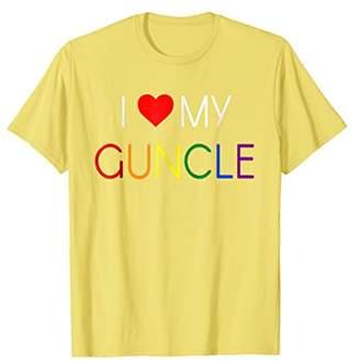 Guncle Shirt Proud of My Gay Uncle T Shirt I Love My Guncle