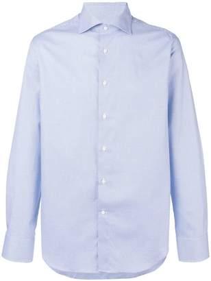 Canali printed shirt