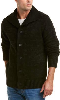 Vince Marled Wool & Yak-Blend Cardigan
