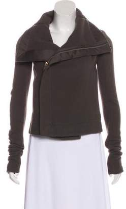 Rick Owens Asymmetrical Knit Jacket