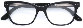 Bottega Veneta Eyewear square frame glasses $298.14 thestylecure.com