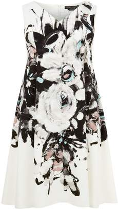 Marina Rinaldi Sleeveless Floral Dress