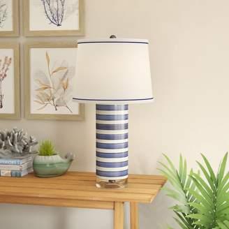 Breakwater Bay Paloalto Stripe 27 Table Lamp