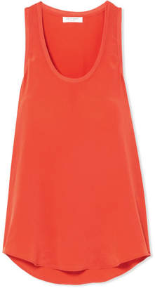 Equipment Mel Washed-silk Tank - Bright orange