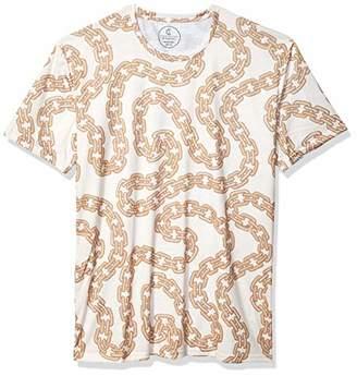 Azaro Uomo Women's Mens Stylish T-Shirts Cool Slim Fit Graphic Printed Stretch