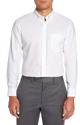Nordstrom Trim Fit Solid Oxford Dress Shirt