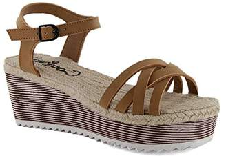 Coolway Women's Garric Wedge Sandal