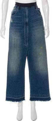 Golden Goose High-Rise Distressed Jeans w/ Tags