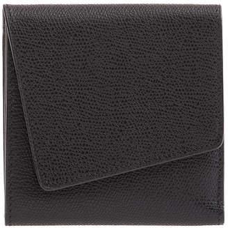 Valextra Twist Leather Portfolio Clutch Bag