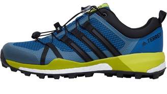 Mens TERREX Skychaser Trail Running Shoes Core Blue/Core Black/Unity Lime